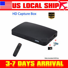 NEW HDMI 1080P HD Video Capture Box UHD Recorder Box For DVD PC XBOX PS3/4