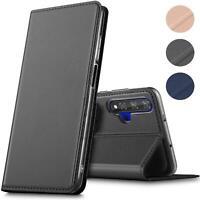 Handy Hülle für Huawei Nova 5T Book Case Schutzhülle Tasche Slim Flip Cover Etui