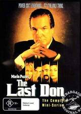 The Last Don DVD by Mario Puzo UK Seller Gangster Movie Mafia Godfather
