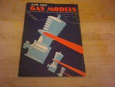 Vintage Air Age Gas Model Book 21 Gas Model Airplanes1943
