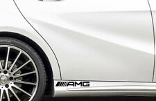 """AMG  Mercedes  Door Adhesive Stickers / decals  """"new logo style """" 270mm"""