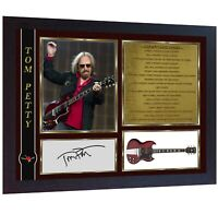 Tom Petty Heartbreakers signed photo print autographed Thomas Framed
