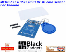 Arduino RFID card module with 2 Tags - card and keychain for arduino UK