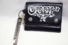 Obey Wallet with Key Ring and Bottle opener