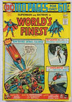 Worlds Finest Comics #225 FN/VF Superman Batman 1974 100 Pages Bronze Age