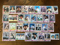 1982 LOS ANGELES DODGERS Topps Complete MLB Team Set 33 Cards VALENZUELA STEWART