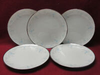 FIVE (5) NORITAKE CHINA - SARITA Pattern # 7006 - BREAD / DESSERT PLATES