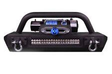 "Rock Crawler Stubby Bumper Fits Jeep Wrangler 07-18 22"" LED Light bar included!"