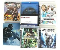 Lot of 7 Sony PS3 Games Uncharted Call of Duty Assassins Creed Warhawk Destiny