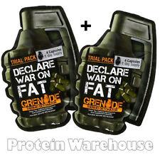 Grenade Thermo Detonator Samples Fat Burner Slimming Pills 2 Packs 4 Caps / Pack