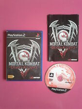 Mortal Kombat Deadly Alliance  - playstation 2 - PAL