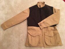 NWT Filson Dry Finish Tin Cloth Shooting Jacket Dark Tan M Made In USA Brown Zip