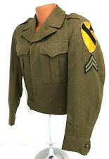 1946 Us Army 1st Cavalry Division Enlisted Ike Jacket