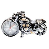 Quartz Analoge Wecker Alarm Super Cool Motorrad Modell Alarm Kreativ Retro L2N7