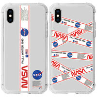 Nasa Transparent Phone Cover Case For iPhone 11 Pro Max XS XR 7 8 Plus SE 2nd