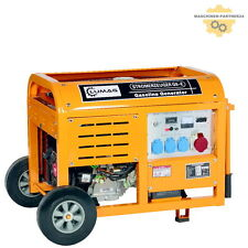 LUMAG G8E Benzin Stromaggregat Generator Stromerzeuger Notstromer 8kW Fernstart!