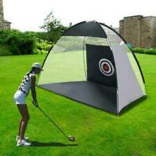 2M Outdoor Supersized Golf Practice Net Driving & Chipping Cage Training Aid Bag