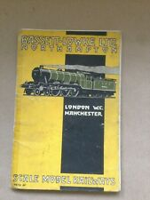 More details for bassett lowke illustrated railways catalogue 1928 soft back 144 pages