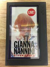 Gianna Nannini Giannissima DCC, Digital Compact Cassette