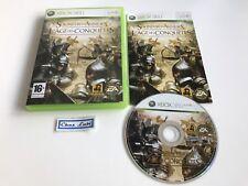 Le Seigneur Des Anneaux L'Age Des Conquêtes - Xbox 360 - PAL FR - Avec Notice