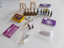 12th scale job lot mixed pub items for your dolls house