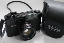 Yashica Electro 35 GT 35mm Rangefinder film camera with 45mm f1.7 Color-Yashinon