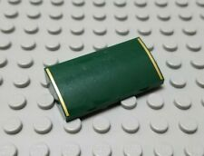 LEGO Dark Green 2x4x2/3 Curved Slope without Bottom Tubes Emerald Night 10194