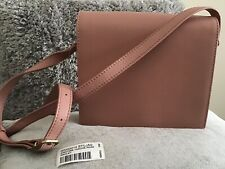New Radley Rose Pink Leather Shouler Body Bag