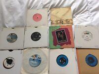 """70's & 80's Vinyl 7"""" Singles Bundle Job Lot  x 10 - NEW WAVE PUNK ROCK FANTASTIC"""