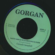 """NEW 7"""" Cornell Campbell - Natty Dread In Greenwich Farm  /  Version"""