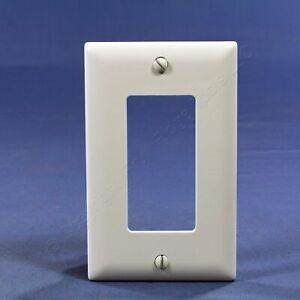 10 P&S Trademaster� White 1-Gang Decorator Nylon Wallplate GFI GFCI Cover TP26-W