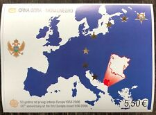 CRNA GORA MONTENEGRO 50th anniversary of the first Europa issue 1956 - 2006