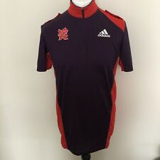 LONDON 2012 Olympics ADIDAS Size M, Zip Neck Top, Games Maker Uniform