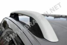 To Fit 10+ Fiat LWB Doblo  Polished Aluminium Alloy Roof Rails Rack Bars Damaged