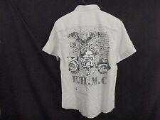 Ed Hardy Men's Studded Shirt USMC for the World XI-04 E.H.M.C. Size M (ID3494)