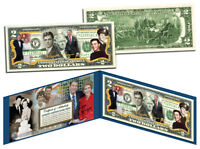RONALD REAGAN *100th Birthday - Life & Times* Colorized US $2 Bill Legal Tender