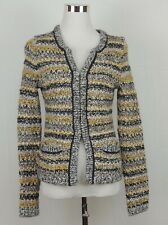 Banana Republic Cardigan Sweater Blazer Jacket Warm Wool Alpaca Blend Pockets XS