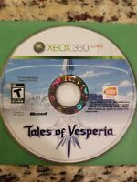 Tales of Vesperia (Microsoft Xbox 360, 2008) disc only TESTED FREE S/H