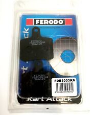 Ferodo Kart Attack TonyKart / OTK BSD Brake Pad Set 2017 To Date - Tony Kart -