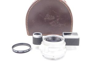 Leitz/Leica 35mm F2 Summicron lens for M3, eight element, outstanding condition