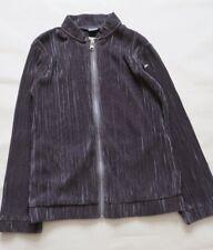 Next Girl`s Jackets Pleat Zip Grey Size 10 years