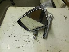 1967 1968 FORD MUSTANG DRIVERS SIDE CHROME REMOTE MIRROR - GOOD USED WORKING