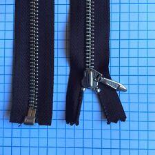 55 cm Brown YKK metal jacket zip zipper  (#317)