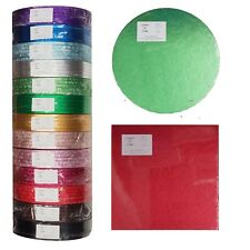 """Cake Drums - Colour - Pack of 5 - 4"""" to 24 """" - Drum Bulk Buy - UK Supplier"""