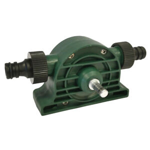 Drill Powered Water Pump Attachment for Electric Drills Plus Hose Attachments