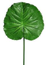 Artificial Raindrop Lotus Leaf - 76cm Tall - Decorative Plastic Foliage