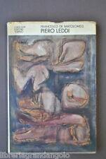 Arte Contemporanea Avanguardia Piero Leddi Dedica Autografa De Bartolomeis 1970