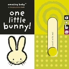 ONE LITTLE BUNNY, AMAZING BABY CHANGING PICTURE BOARD BOOK