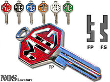 New MG Logo Key for Ignition Switch or Trunk Lock