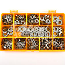 460 ASSORTED M3 M4 M5 M6 M8 A4 MARINE STAINLESS STEEL FORM A FLAT WASHERS KIT